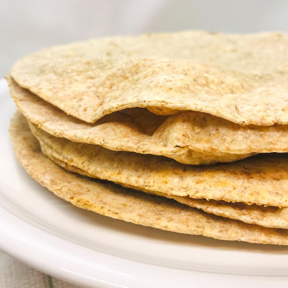 Piadine con farina integrale